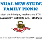 ANNUAL NEW STUDENT FAMILY PICNIC