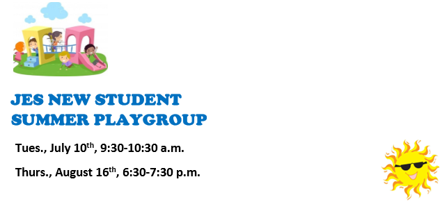 New Student Summer Playgroup